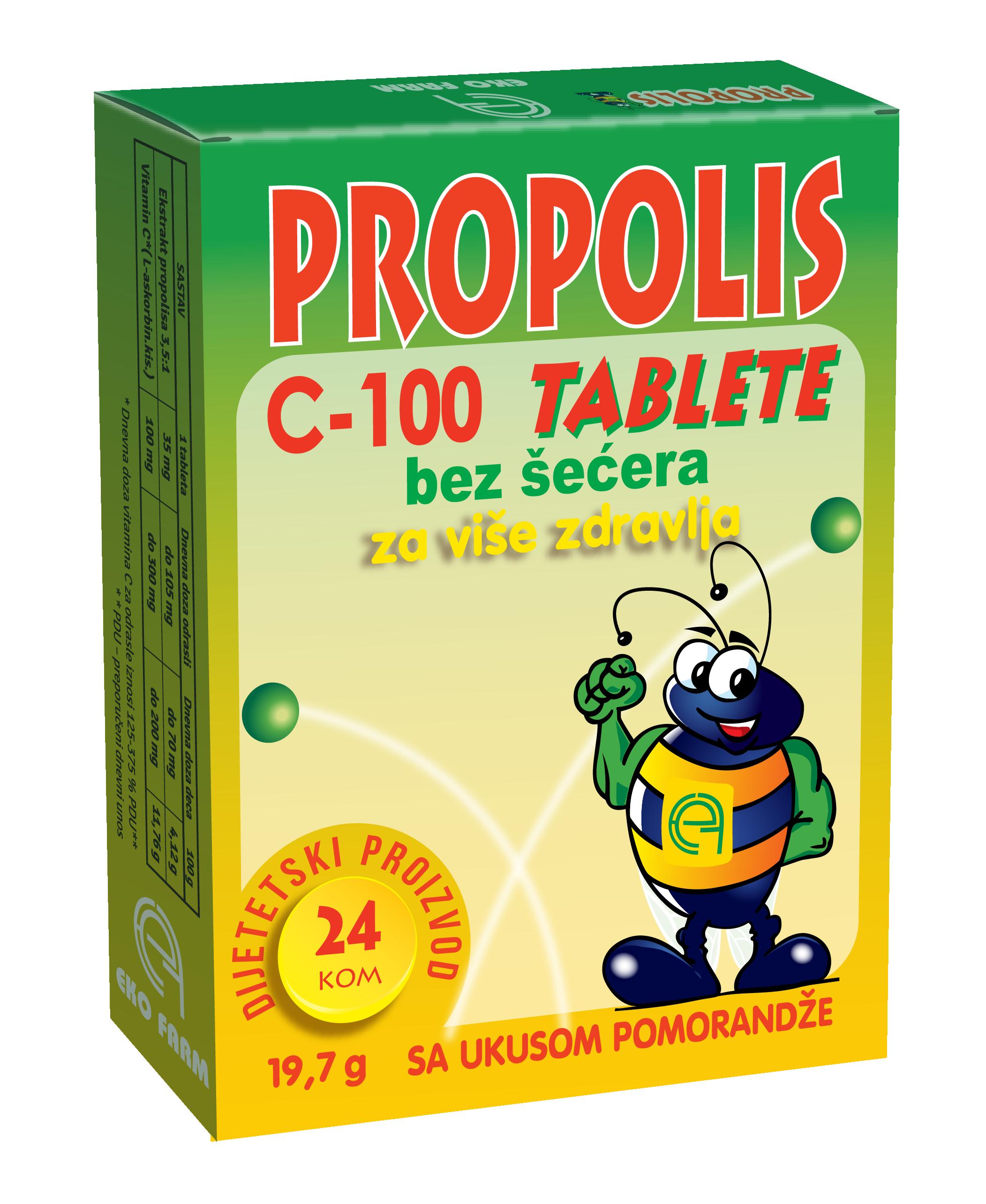 propolis c 100 bez secera