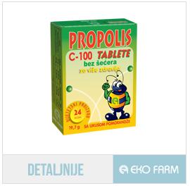 propolis bez šećera