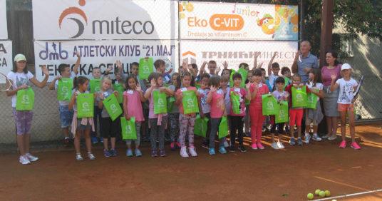 Besplatna škola tenisa u Rakovici